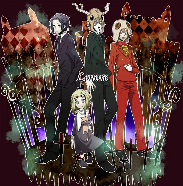 Tags: Anime, Uniikura, Lenore: The Cute Little Dead Girl, Taxidermy, Mr. Gosh, Ragamuffin, Kitty (lenore), Lenore
