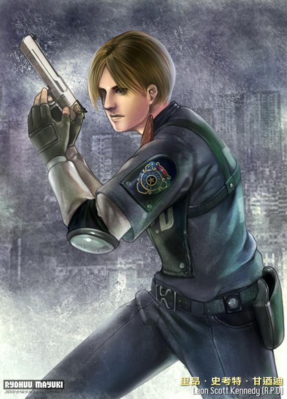 Leon Scott Kennedy - Resident Evil 2 - Image #1108168 - Zerochan