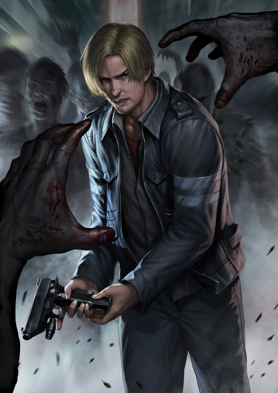 Leon Scott Kennedy Mobile Wallpaper Zerochan Anime Image Board