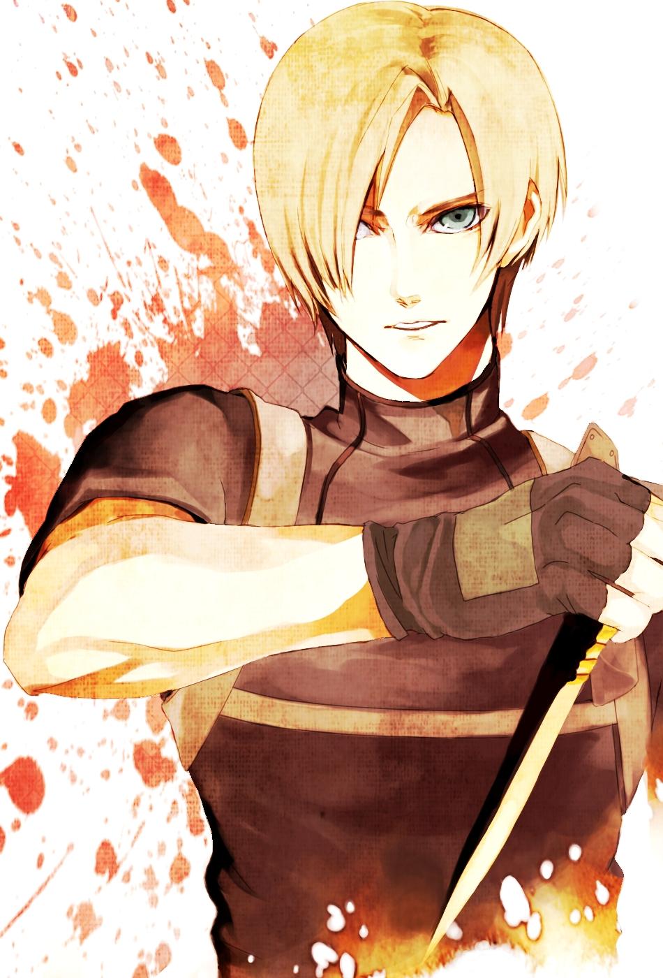 leon scott kennedy resident evil 2 zerochan anime