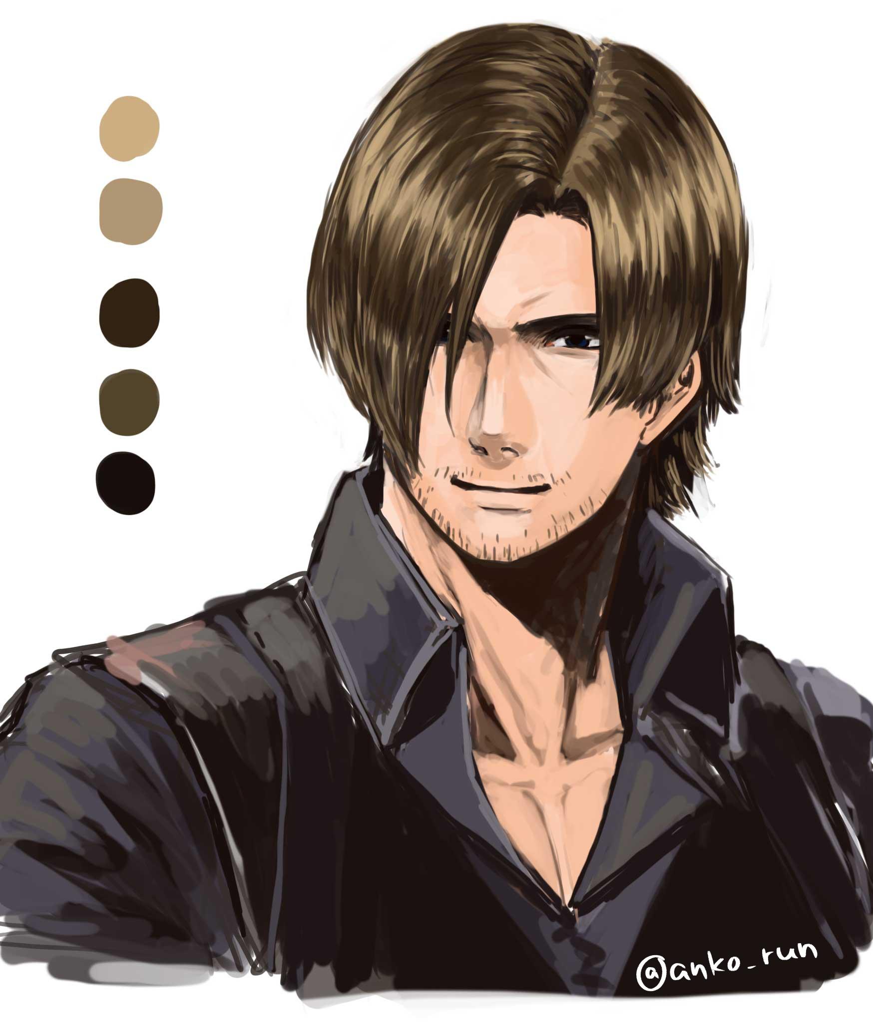 Leon Scott Kennedy Resident Evil 2 Image 2198721 Zerochan Anime Image Board