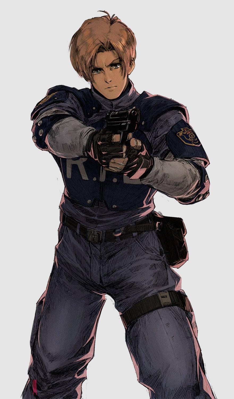 Leon Scott Kennedy Resident Evil 2 Image 2525438 Zerochan Anime Image Board