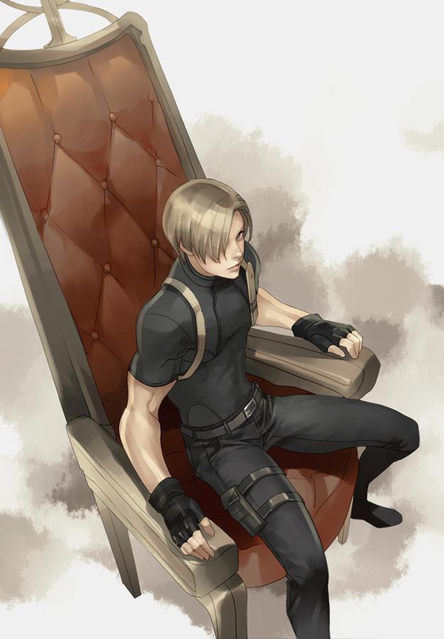 Leon Scott Kennedy Resident Evil 2 Zerochan Anime Image Board