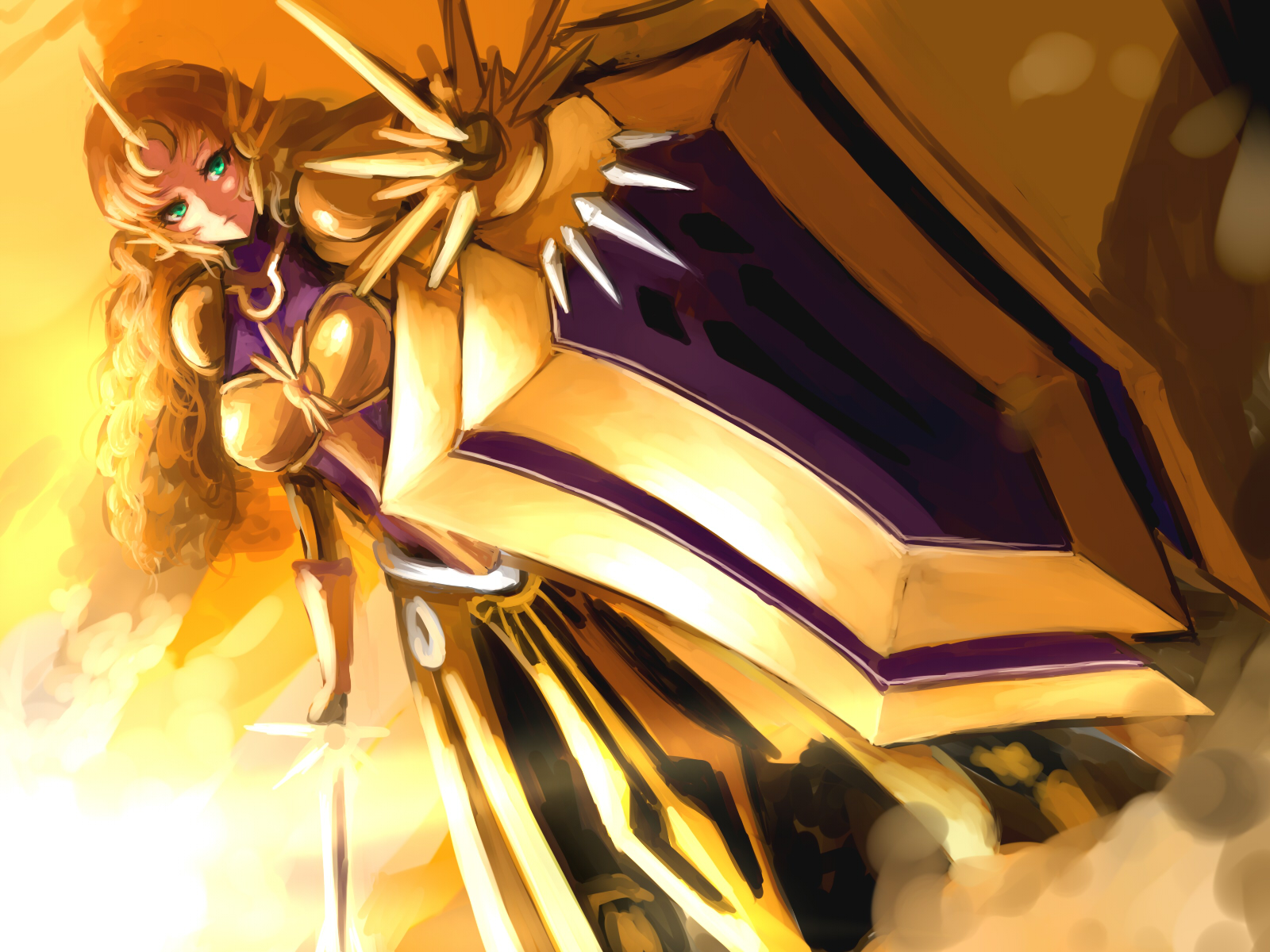 Daughter of the Sun Leona!