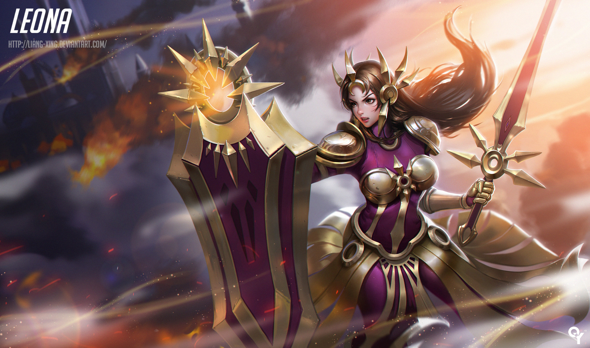 Leona (League of Legends) - League of Legends - Wallpaper ...