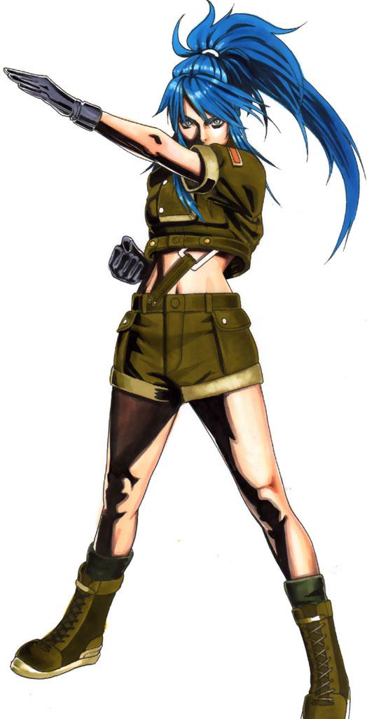 Tags: Anime, Metal Slug, The King of Fighters, Leona Heidern