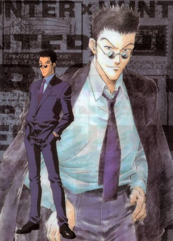 Tags: Anime, Excel♥Saga, Hunter x Hunter, Leorio Paladiknight, Menchi, Machi, Official Art