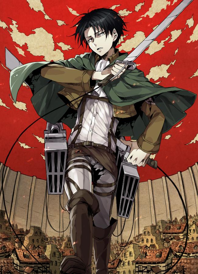 Levi Ackerman Attack On Titan Mobile Wallpaper 1490759 Zerochan Anime Image Board