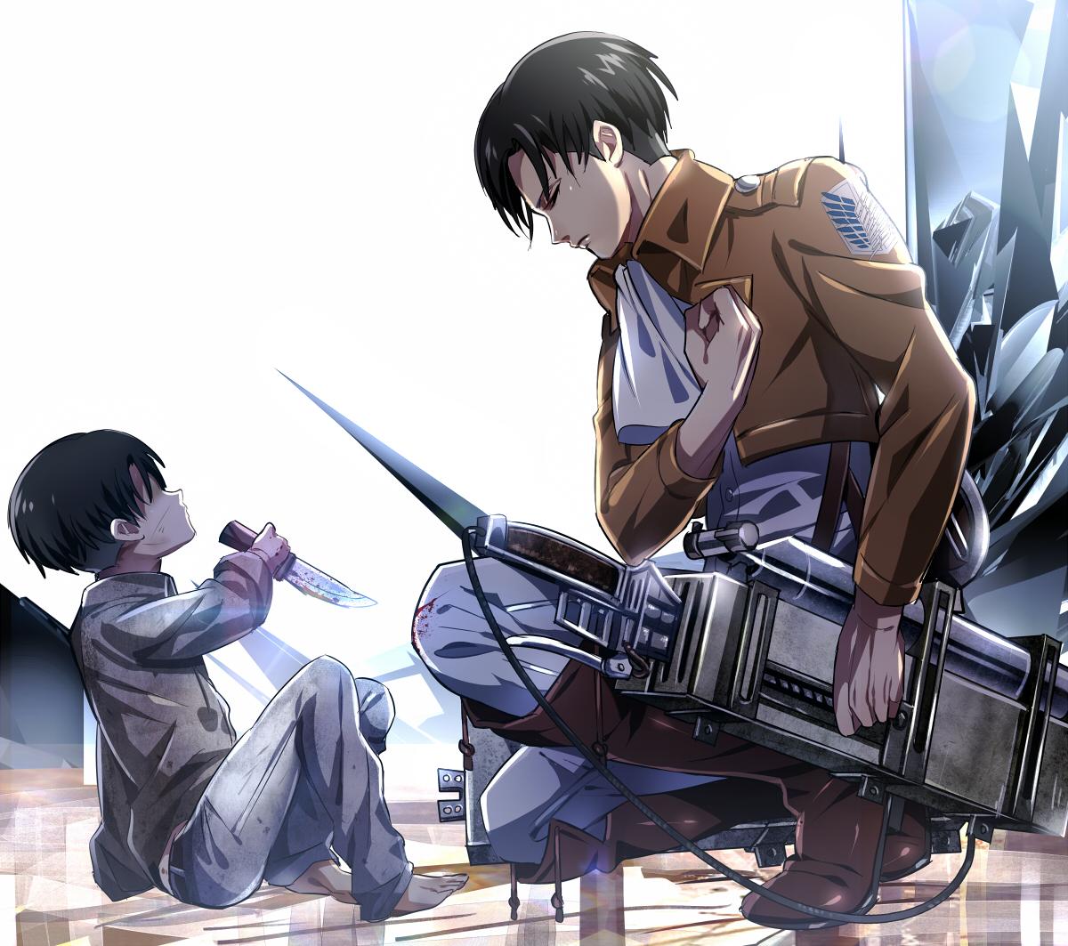 Levi Ackerman Attack On Titan Zerochan Anime Image Board