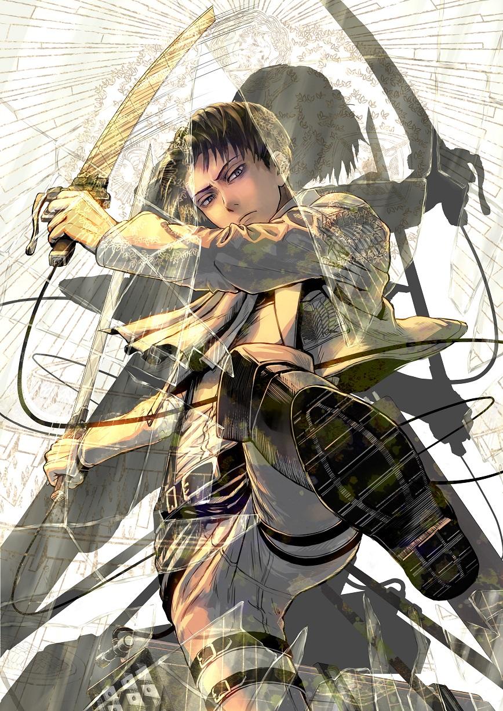 Levi Ackerman Mobile Wallpaper Zerochan Anime Image Board