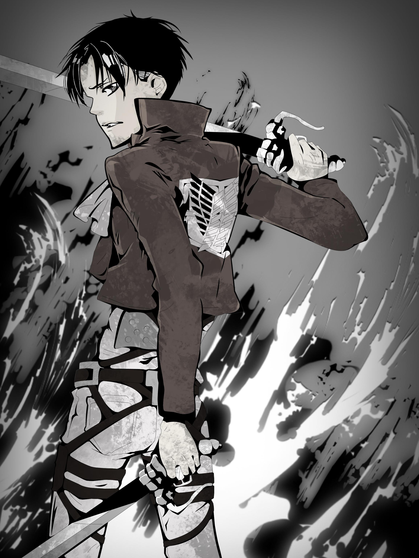 Levi Ackerman Attack On Titan Image 1539571 Zerochan Anime Image Board