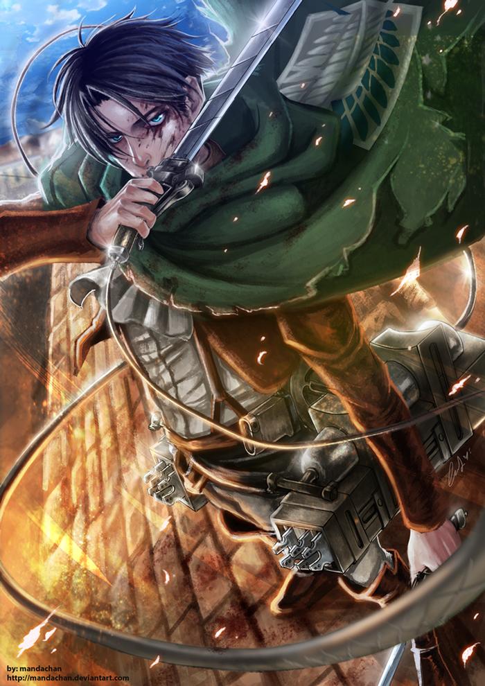 Levi Ackerman Attack On Titan Mobile Wallpaper 1539654 Zerochan Anime Image Board
