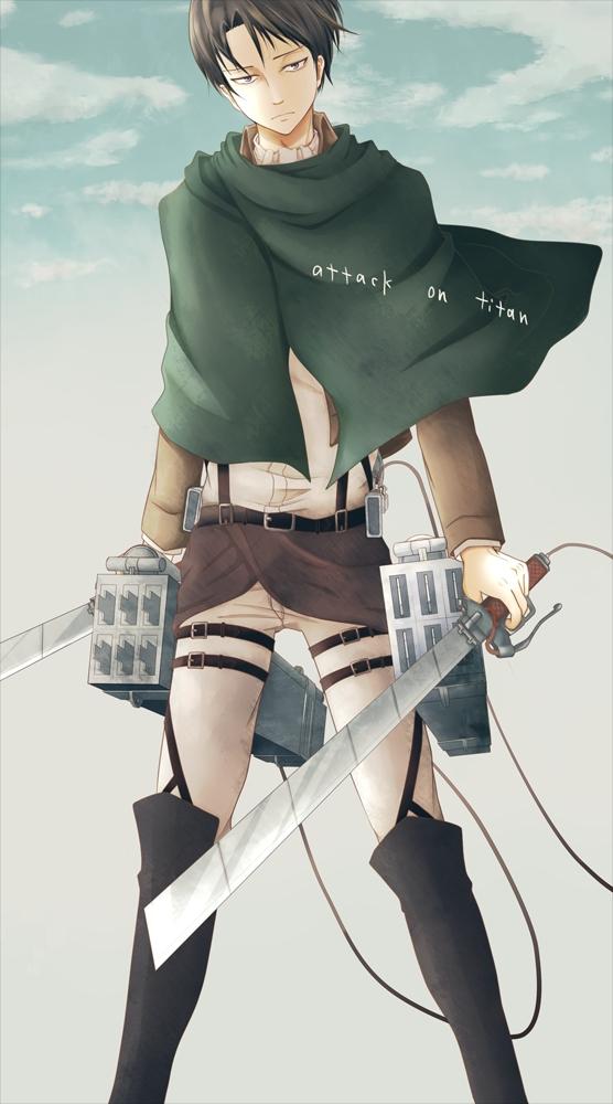 Tags: Anime, Pixiv Id 1385126, Attack on Titan, Levi Ackerman, Pixiv, Mobile Wallpaper