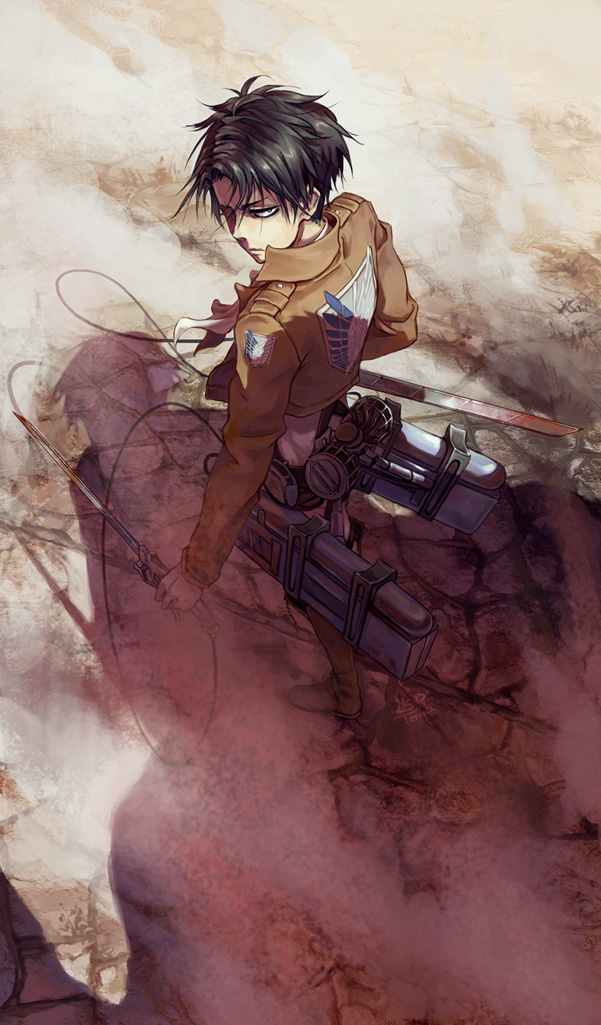 Levi Ackerman Mobile Wallpaper Zerochan Anime Image Board