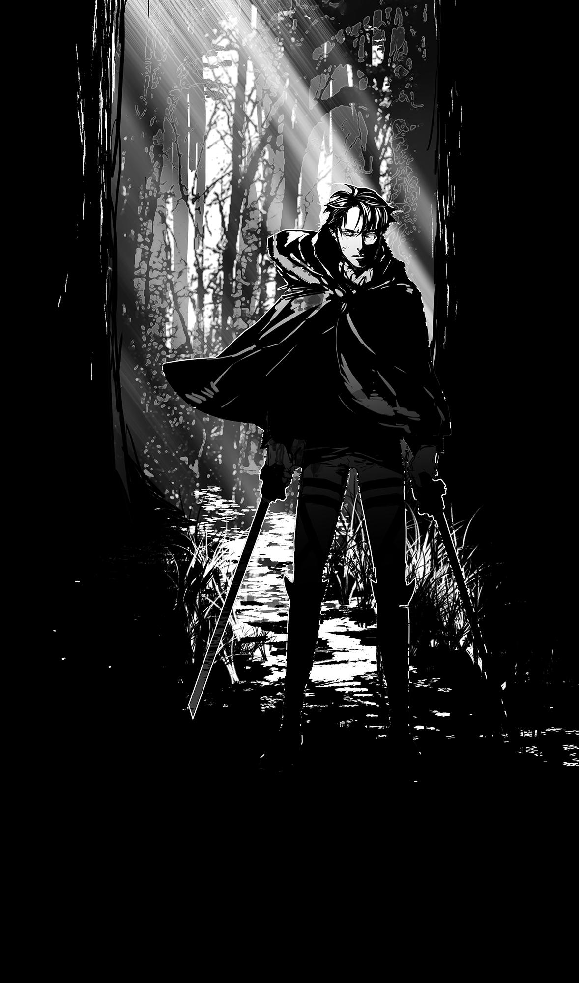 Levi Ackerman Attack On Titan Mobile Wallpaper 1609443 Zerochan Anime Image Board
