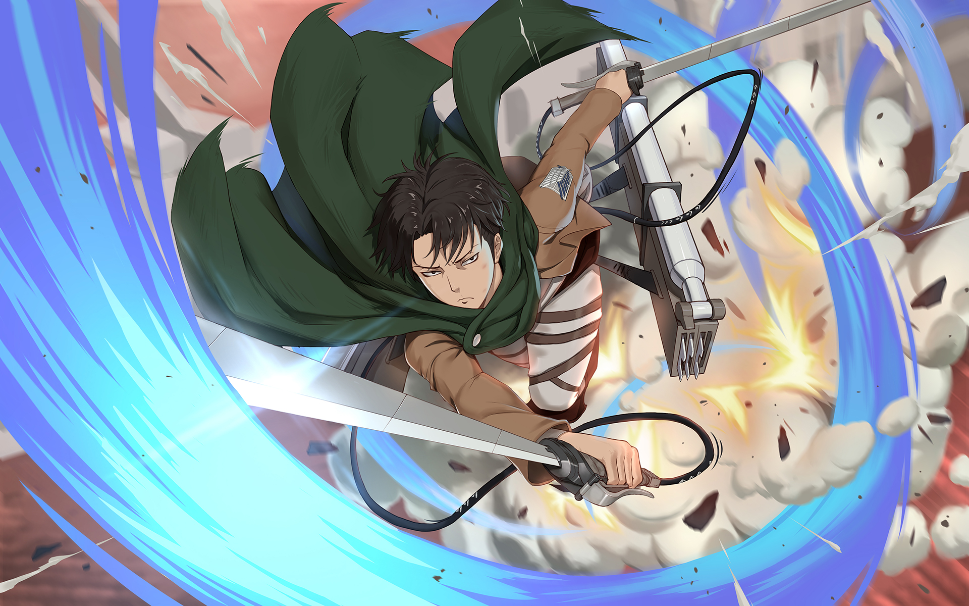 Levi Ackerman Attack On Titan Wallpaper 2511648 Zerochan