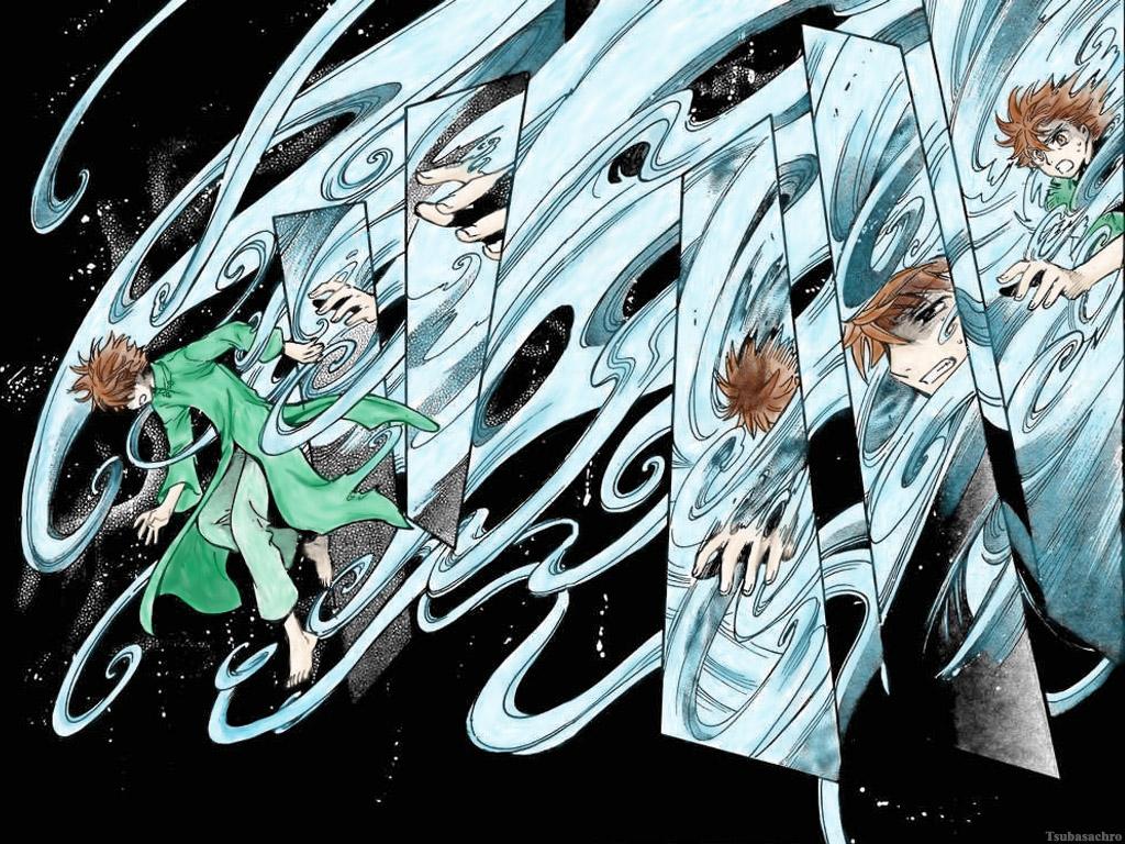 Wallpapers tsubasa chronicle anime.