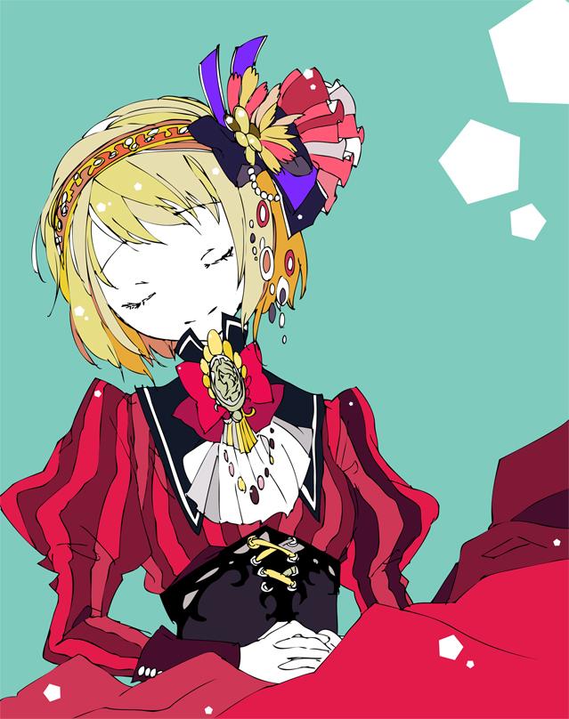 Tags: Anime, Moyashi (Artist), Axis Powers: Hetalia, Liechtenstein, Germanic Countries