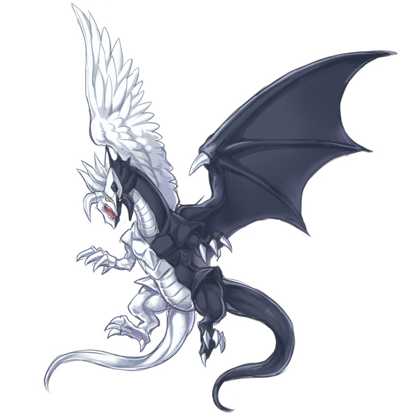 Light and Darkness Dragon/#1822602 - Zerochan