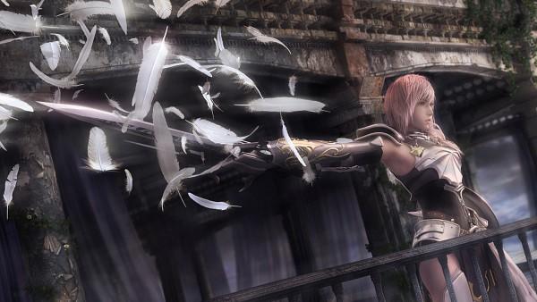 Tags: Anime, Nomura Tetsuya, SQUARE ENIX, Final Fantasy XIII, Lightning Farron, Thigh Boots, Fight Stance