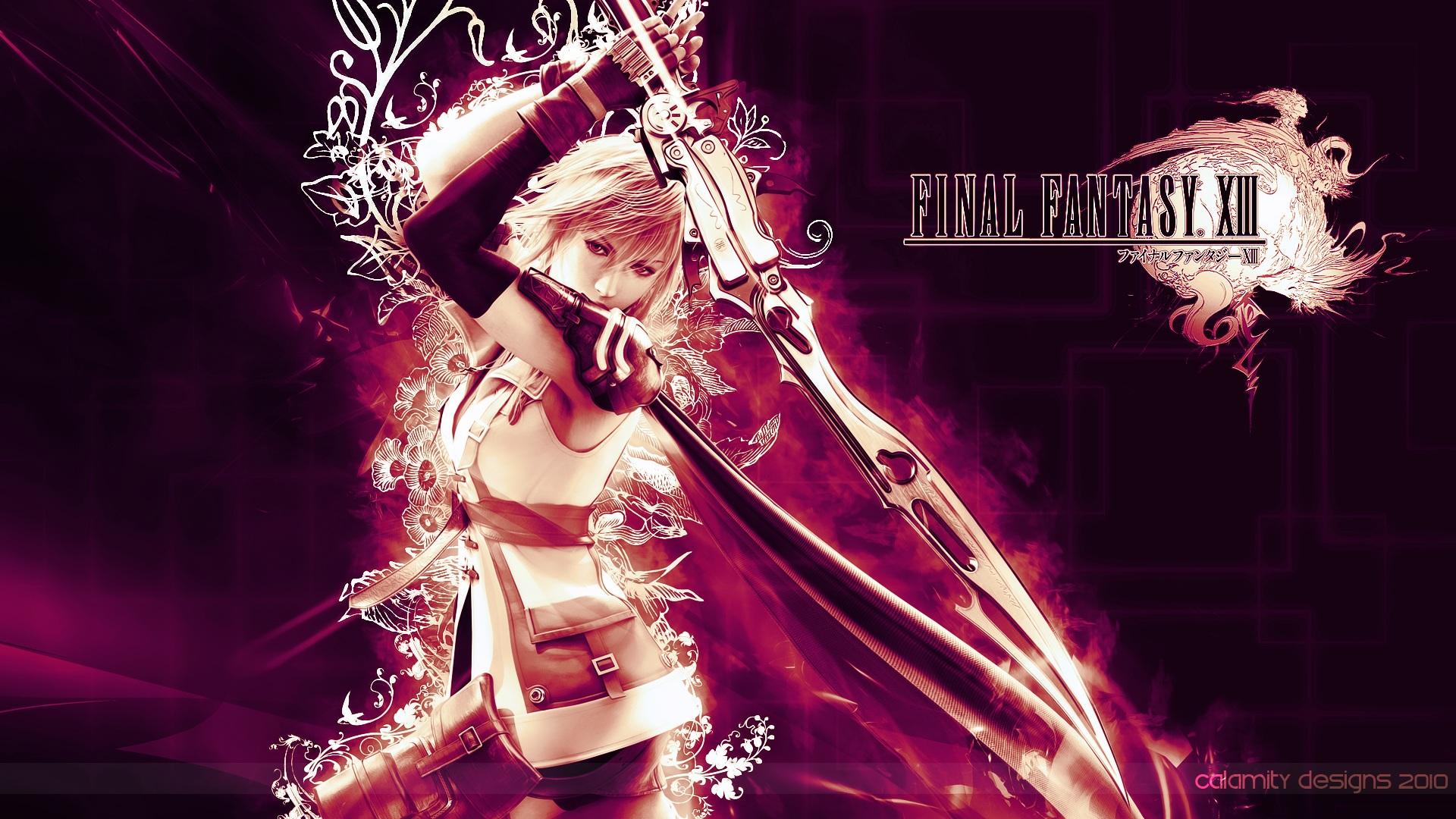 Lightning Farron Final Fantasy Xiii Hd Wallpaper 185504