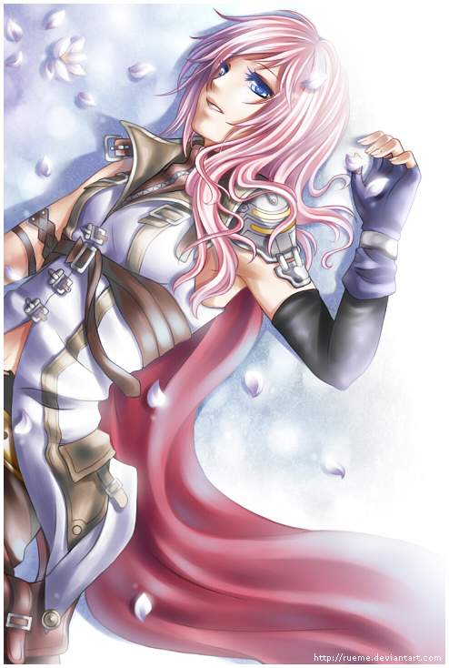 Anime Characters Use Lightning : Final fantasy xiii lightning character ffxiii anime memes