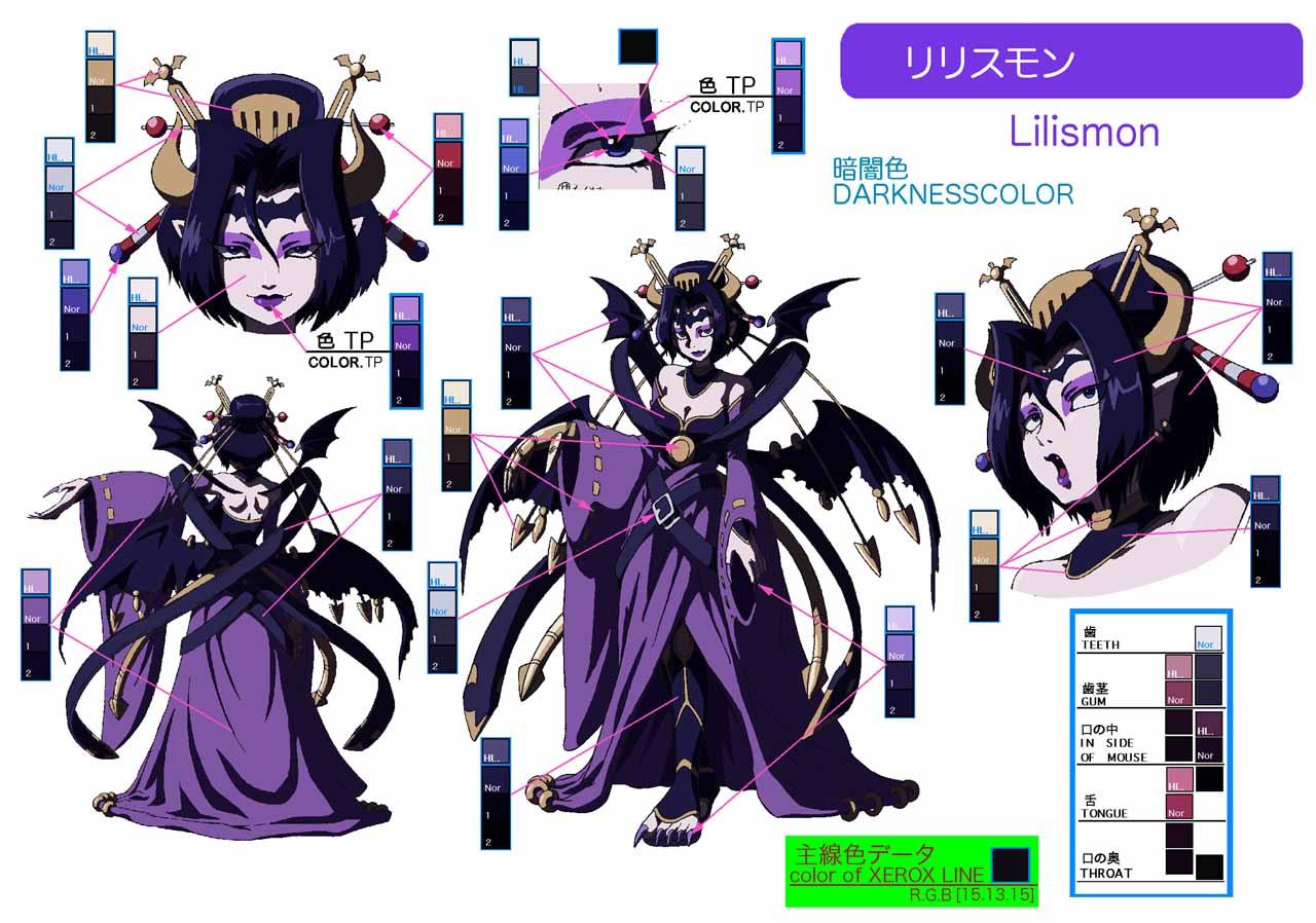 Lilithmon (Laylamon) - Digimon Savers - Zerochan Anime ...