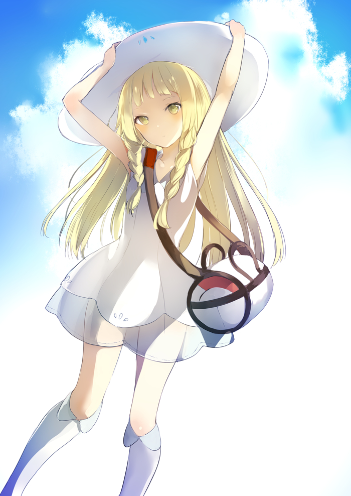 Lillie Pok 233 Mon Pok 233 Mon Sun Amp Moon Mobile Wallpaper 2067269 Zerochan Anime Image Board