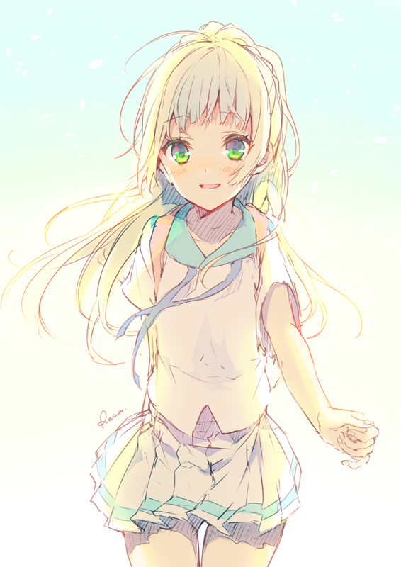 Tags: Anime, Reia (Artist), Pokémon Sun & Moon, Pokémon, Lillie (Pokémon), Fanart, Twitter, PNG Conversion, Mobile Wallpaper