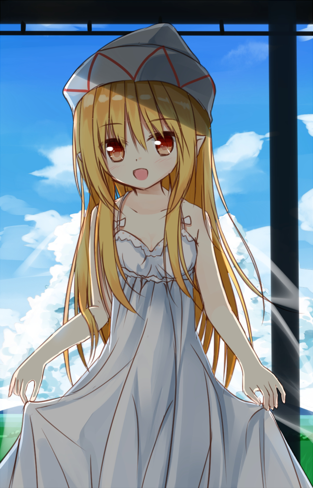 Tags: Anime, Amaretto-no-natsu, Touhou, Lily White, Fanart From Pixiv, Fanart, PNG Conversion, Pixiv, Mobile Wallpaper