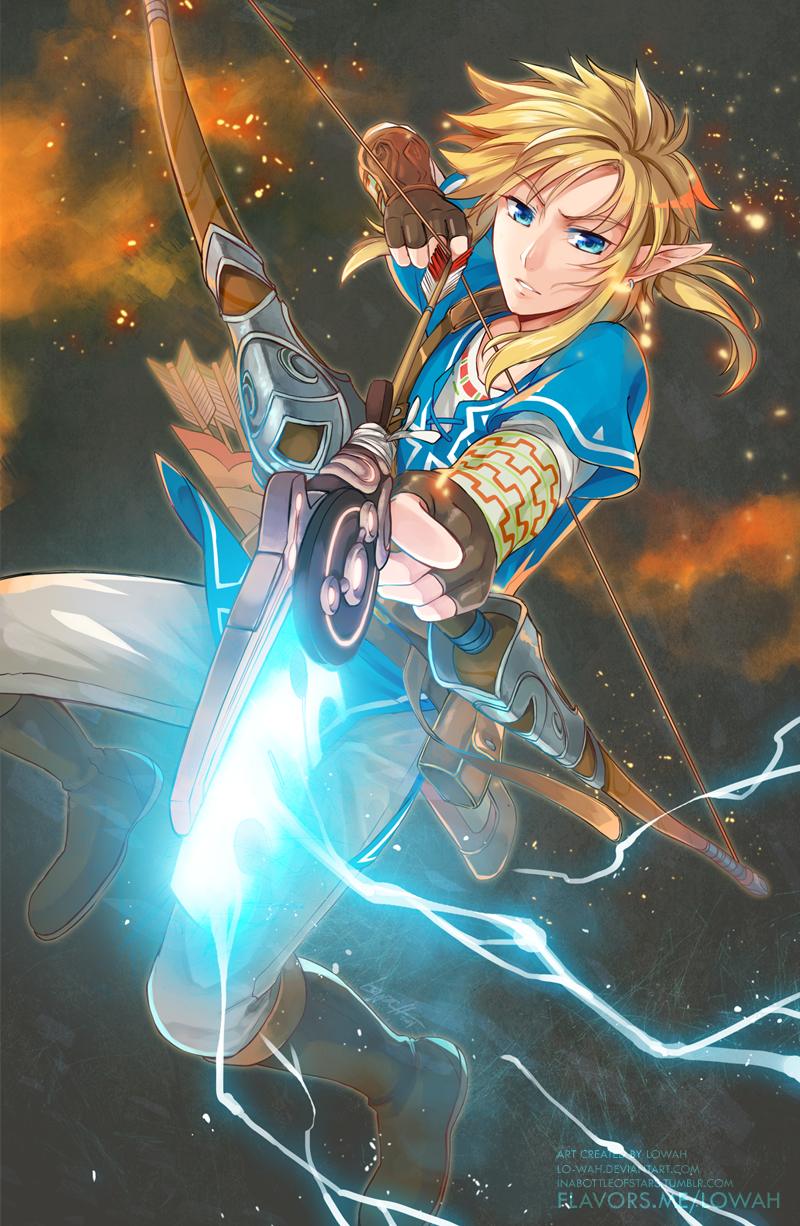 Link (Breath of the Wild) - Zelda no Densetsu: Breath of the