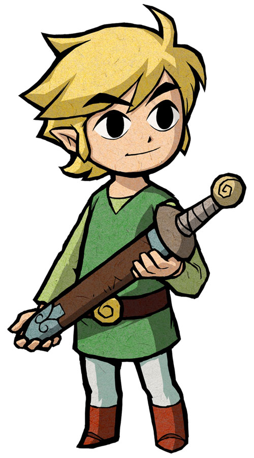 Tags: Anime, Nintendo, Zelda no Densetsu, Zelda no Densetsu: Fushigi no Boushi, Link, Link (Fushigi no Boushi), Artist Request, Mobile Wallpaper, Official Art, Cover Image, Link (the Minish Cap)