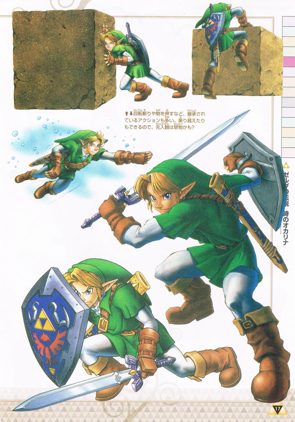 Link Toki No Ocarina Link Ocarina Of Time Zelda No