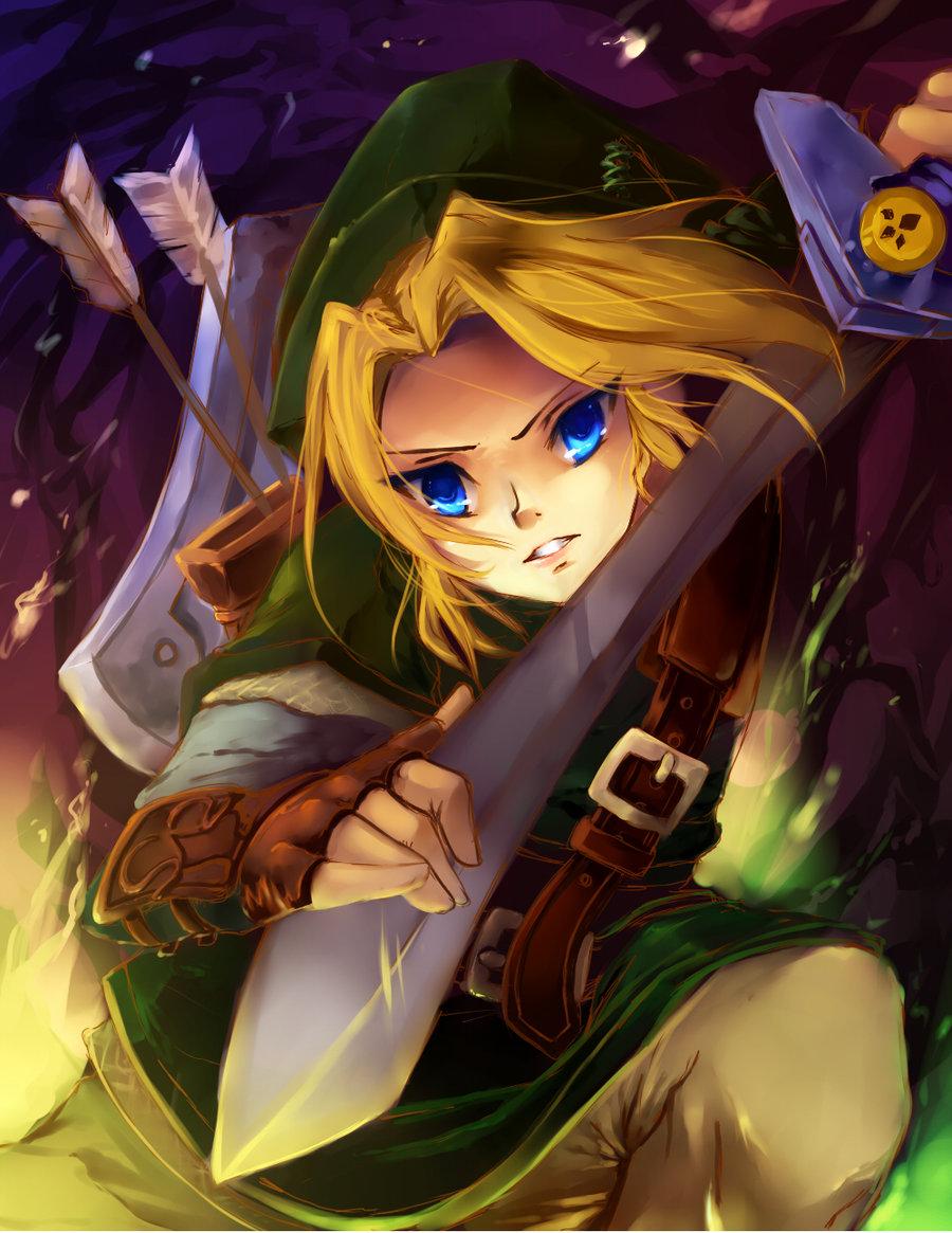 Link (Toki no Ocarina) (Link (ocarina Of Time)) - Zelda no ...
