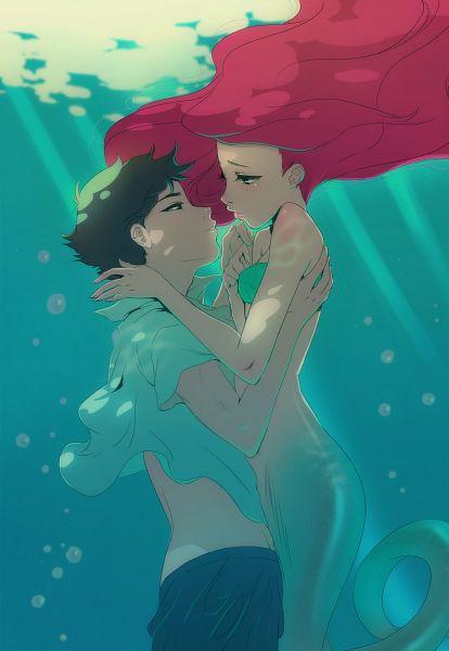 Tags: Anime, Angela Vianello, Disney, Little Mermaid, Little Mermaid (Disney), Prince Eric, Ariel
