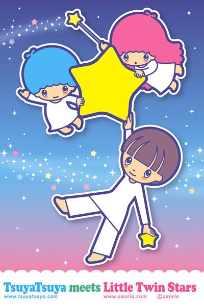 Tags: Anime, Sanrio, Lala (Sanrio), Kiki (Sanrio), Star Wand, Little Twin Stars