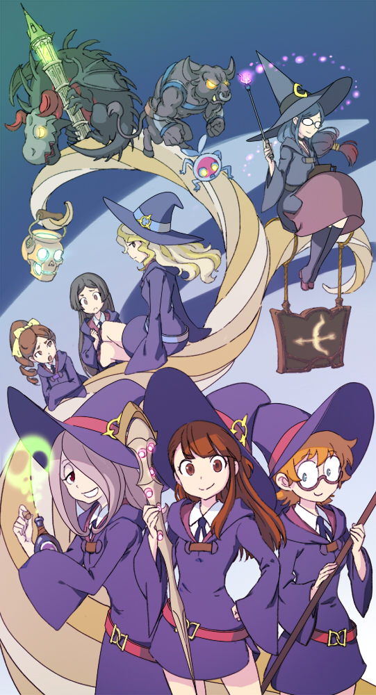 23+ Little Witch Academia Wallpaper  PNG