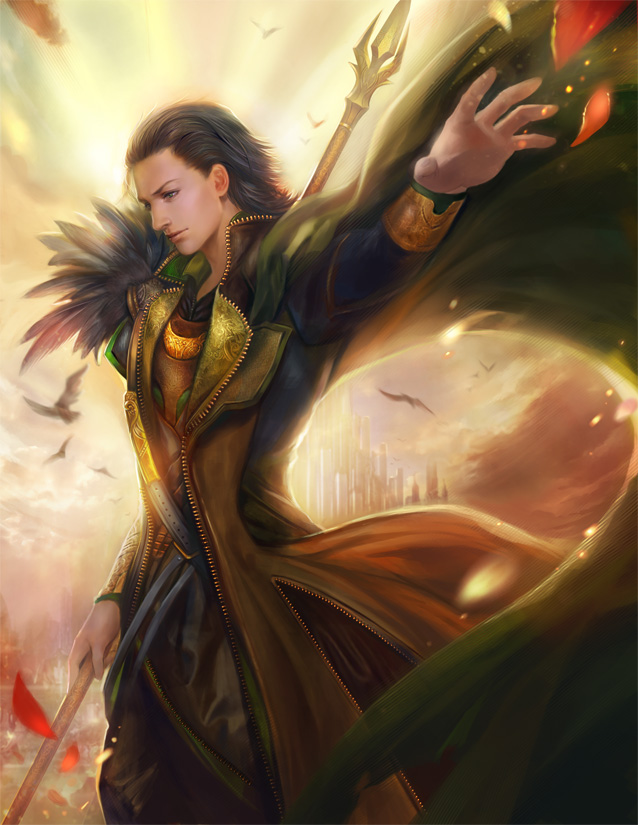 Tags: Anime, Yangfan, The Avengers, Loki Laufeyson, Unzipped, deviantART, Marvel