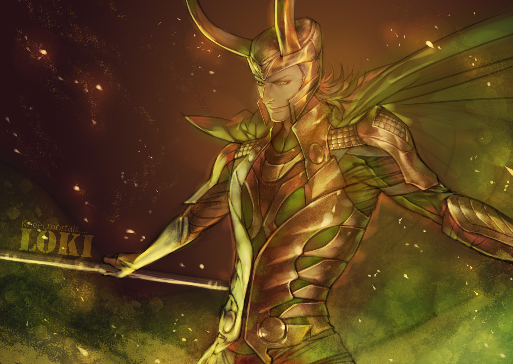 Wonderful Wallpaper Marvel Odin - Loki  HD_794923.jpg