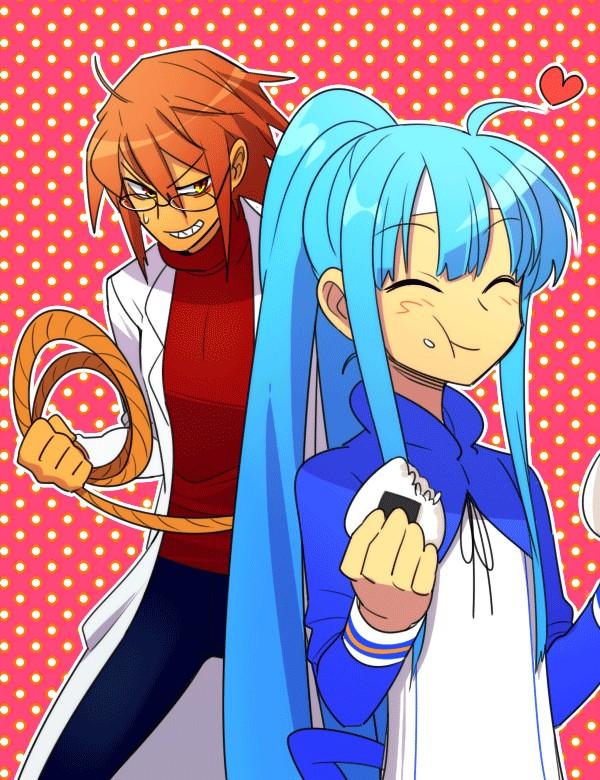 Tags: Anime, Pixiv Id 3245063, Looney Tunes, Road Runner, Wile E. Coyote, Onigiri