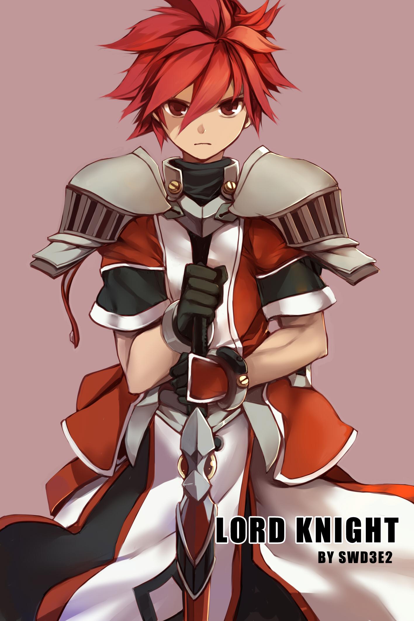 Lord Knight Elsword Elsword Character Zerochan Anime Image Board