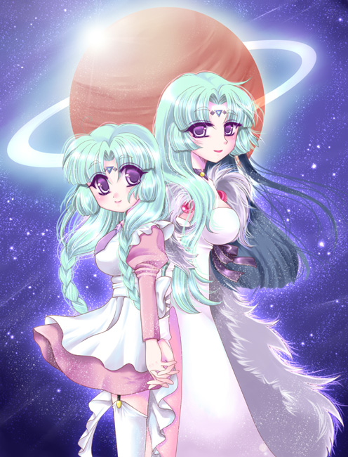 Tags: Anime, Izumi Shara, Lost Universe, Canal Volphied, Fanart, Pixiv