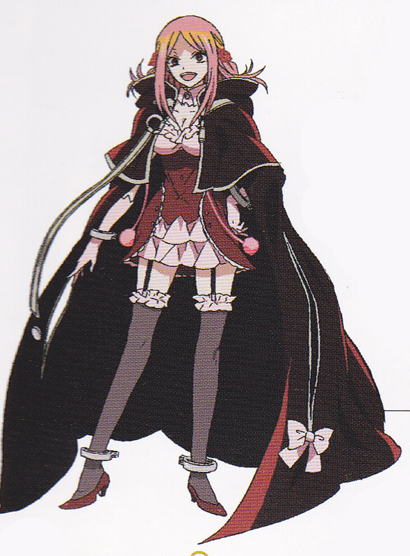 Tags: Anime, Pandora Hearts, Lotti Baskerville, Scan, Official Art, Baskerville