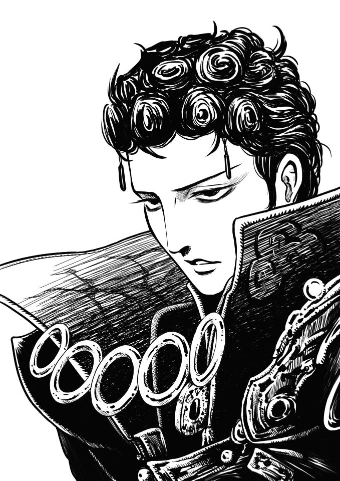 Tags: Anime, Hachiya (Hachiya0808), Thunderbolt Fantasy, Lou Zhenjie, Monk