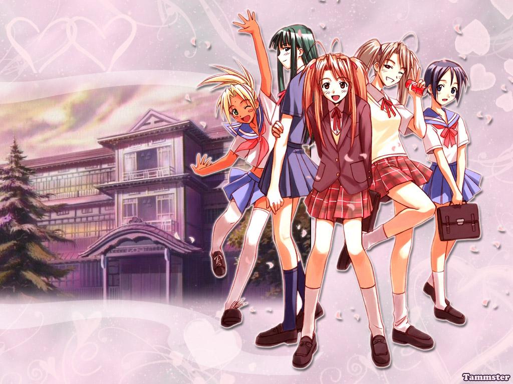 Love Hina Wallpaper Zerochan Anime Image Board