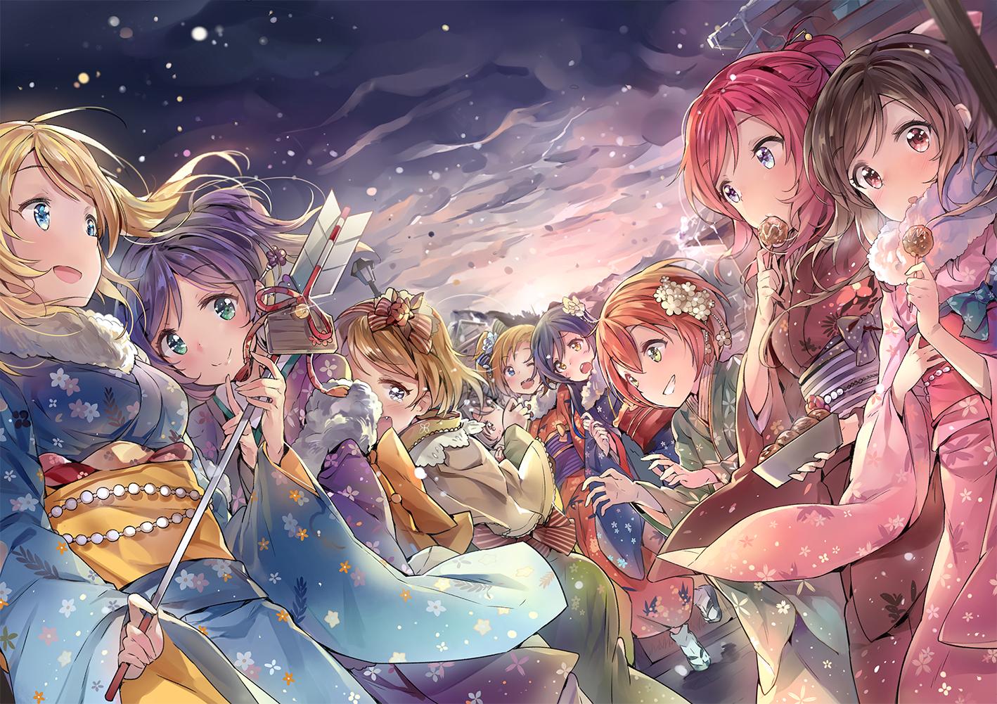 Hoshizora rin fanart zerochan anime image board - Love live wallpaper 540x960 ...