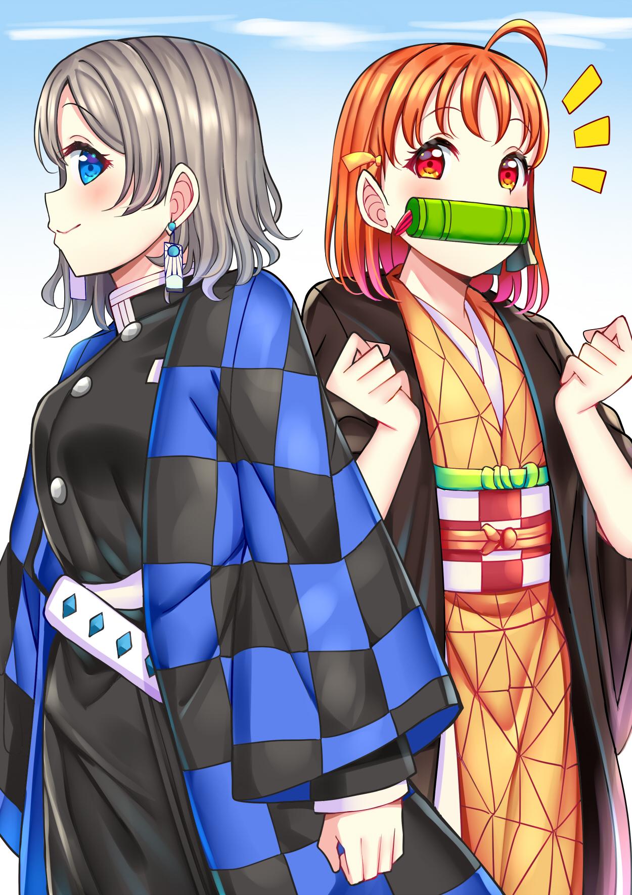 Kimetsu No Yaiba Cosplay Zerochan Anime Image Board
