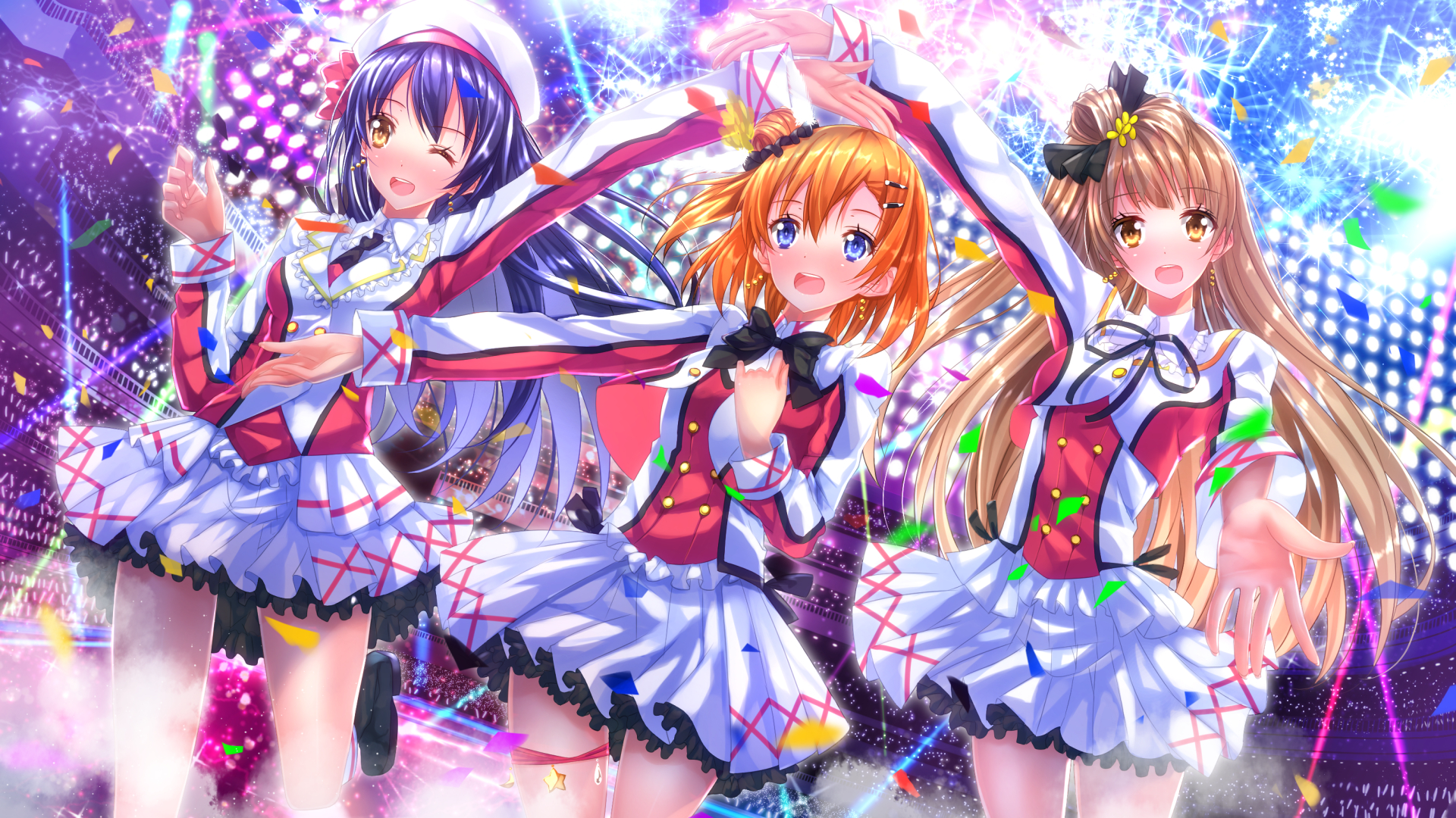 Love Live Hd Wallpaper 1703573 Zerochan Anime Image Board