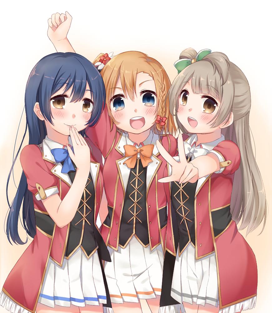 3 anime friends wwwpixsharkcom images galleries with