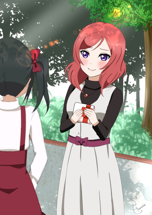 Tags: Anime, Pixiv Id 29660259, Love Live!, Nishikino Maki, Yazawa Niko, Pixiv, Fanart From Pixiv, Fanart